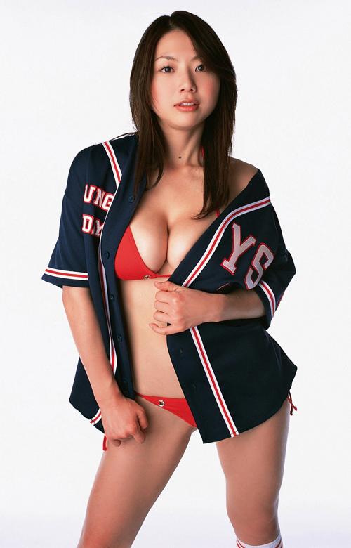 棒球美少女郊外可爱写真