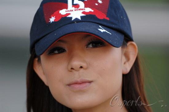 2007F1中国站靓丽女郎