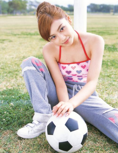 足球少女性感甜蜜写真