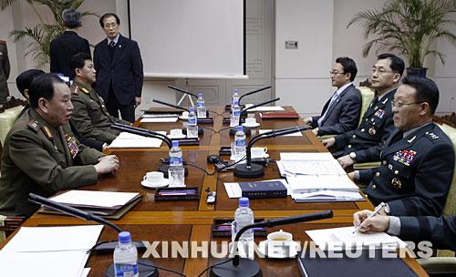 朝韩将军级军事会谈发生身体冲突 气氛紧张[组图]