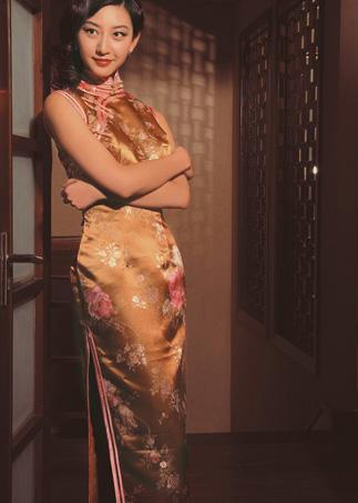 国内最具古典美女星旗袍月历图