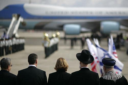 布希中東之行 和平利益孰為重[組圖]