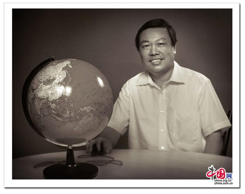 科技部副部长尚勇  保护环境 气候 摄影 人像