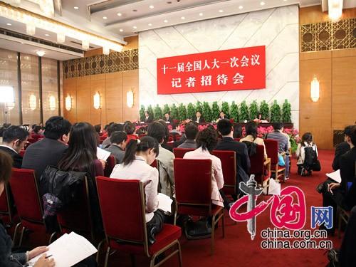 中国县域经济报记者提问-全国人大就环境资源与节能减排举行记者招...