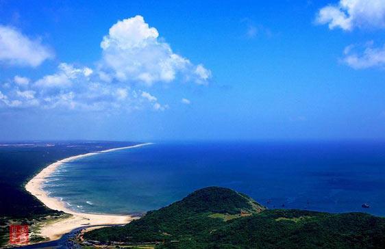 海南风光--情系月亮湾[组图]_图片中心_中国网