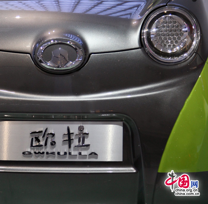 采用全新锂离子动力 长城至酷小车欧拉高清图片