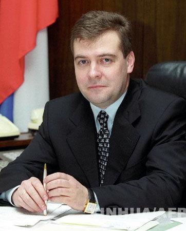 梅德韦杰夫今天宣誓就职成为俄罗斯新总统