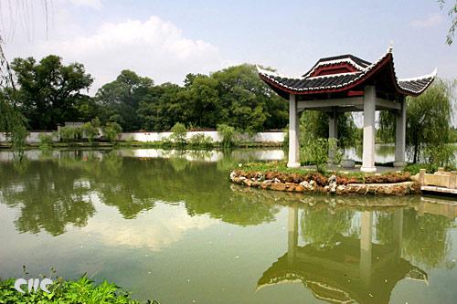 南昌旅游风景 八大山人纪念馆