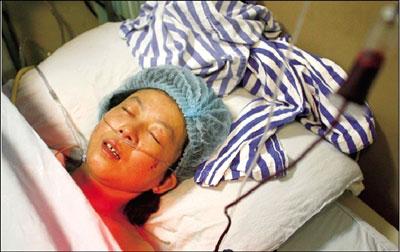 女子被困216小时获救 吃蚯蚓野草维系生命(图)