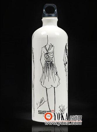 塑料瓶手绘图片
