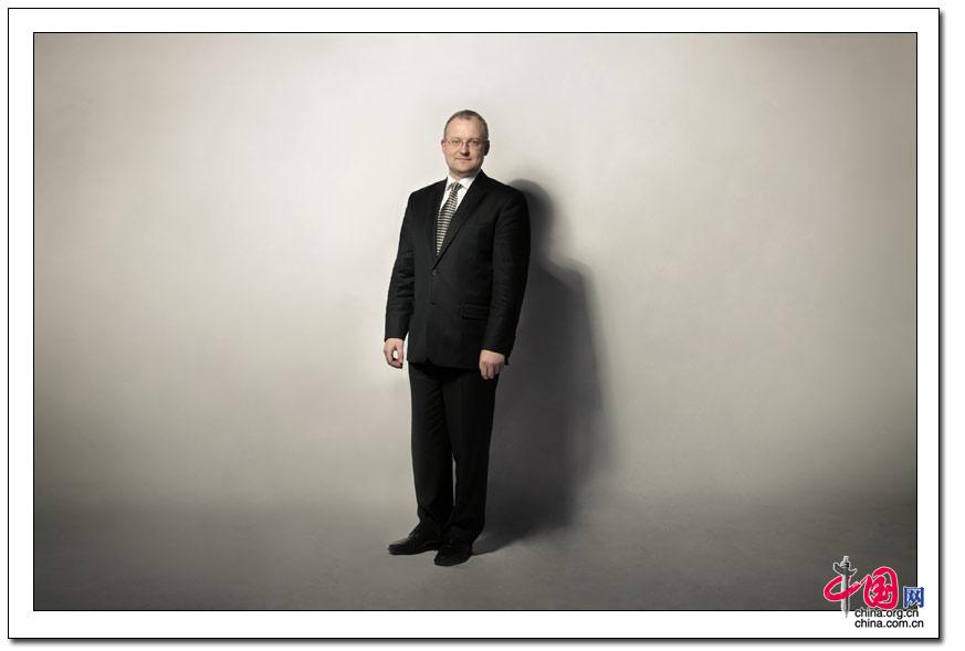 爱沙尼亚驻华大使 翁卡 摄影 人像