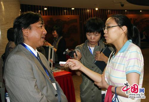 日本大使馆经济部长、公使--香川刚广接受中国网记者采访