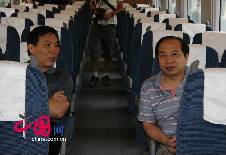 體驗京津城際列車