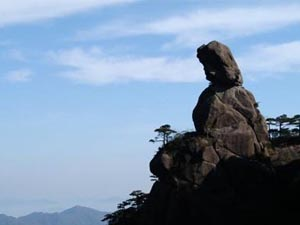 三清山奇峰怪石