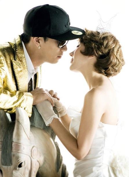 徐仁英 我们结婚了 唯美画报
