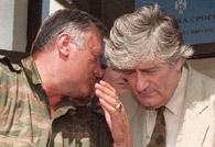 卡拉季奇與姆拉迪奇