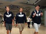 8月4日,美国游泳名将菲尔普斯抵达首都国际机场。
