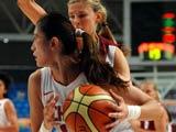 中国女篮以63-51战胜欧洲劲旅拉脱维亚女篮,获得本届钻石杯女篮赛的季军。