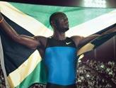 牙买加百米名将鲍威尔(ASAFA POWELL)奥运宣传照