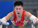 8月6日,中国体操队名将李小鹏在国家体育馆进行了首次赛台训练。