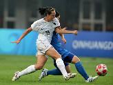 组图:奥运女足预赛 日本女足2-2战平新西兰女足