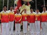 8月7日,中国奥运马术运动员抵达香港。