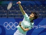 8月8日,中国香港羽毛球选手王晨积极训练,备战奥运会。