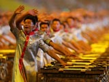 開幕式中國東方民族元素