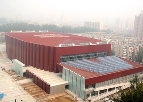 北京科技大学体育馆图片