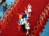 國際奧會新當選的運動員委員會委員入場[圖]