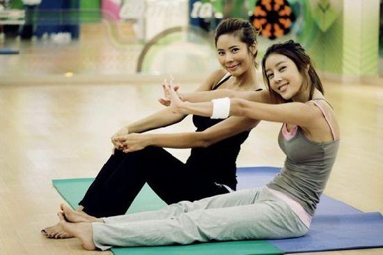 健身房遇到的优质美女