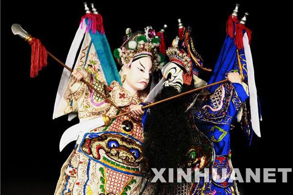 漳州布袋木偶戏将在日本公演[组图]