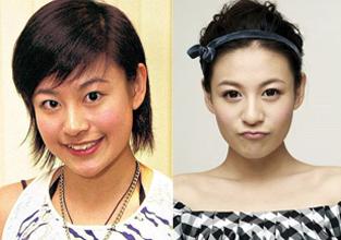 五个神奇变美的香港新生代丑女明星