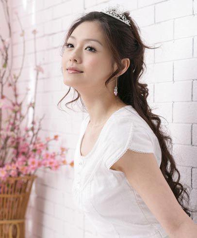 复古公主发型非常适合甜美可爱气质的女生图片
