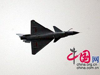 2008中国珠海航展隆重开幕 开幕式上精彩飞行表演