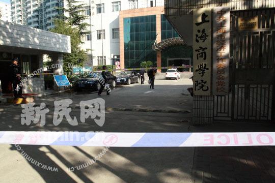 上海商学院徐汇校区宿舍火灾 4名大学生身亡[图集]图片