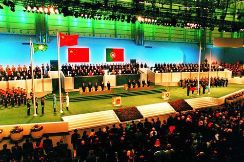 1999年12月20日_1999 澳门回归_图片中心_中国网