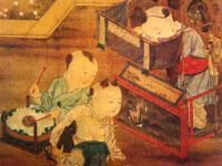 宋 《傀儡戏婴图》 台湾故宫博物院藏