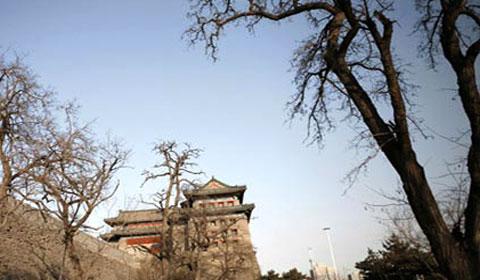 明城墙遗址 守望北京的那段老城墙