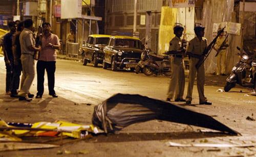 孟买/孟买恐怖袭击案现场。(来源:中新网)