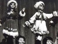 杖头木偶《草原小姐妹》
