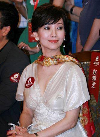 不老美女赵雅芝的年轻15岁穿衣秘诀组图