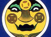奇趣滿族面具——財神