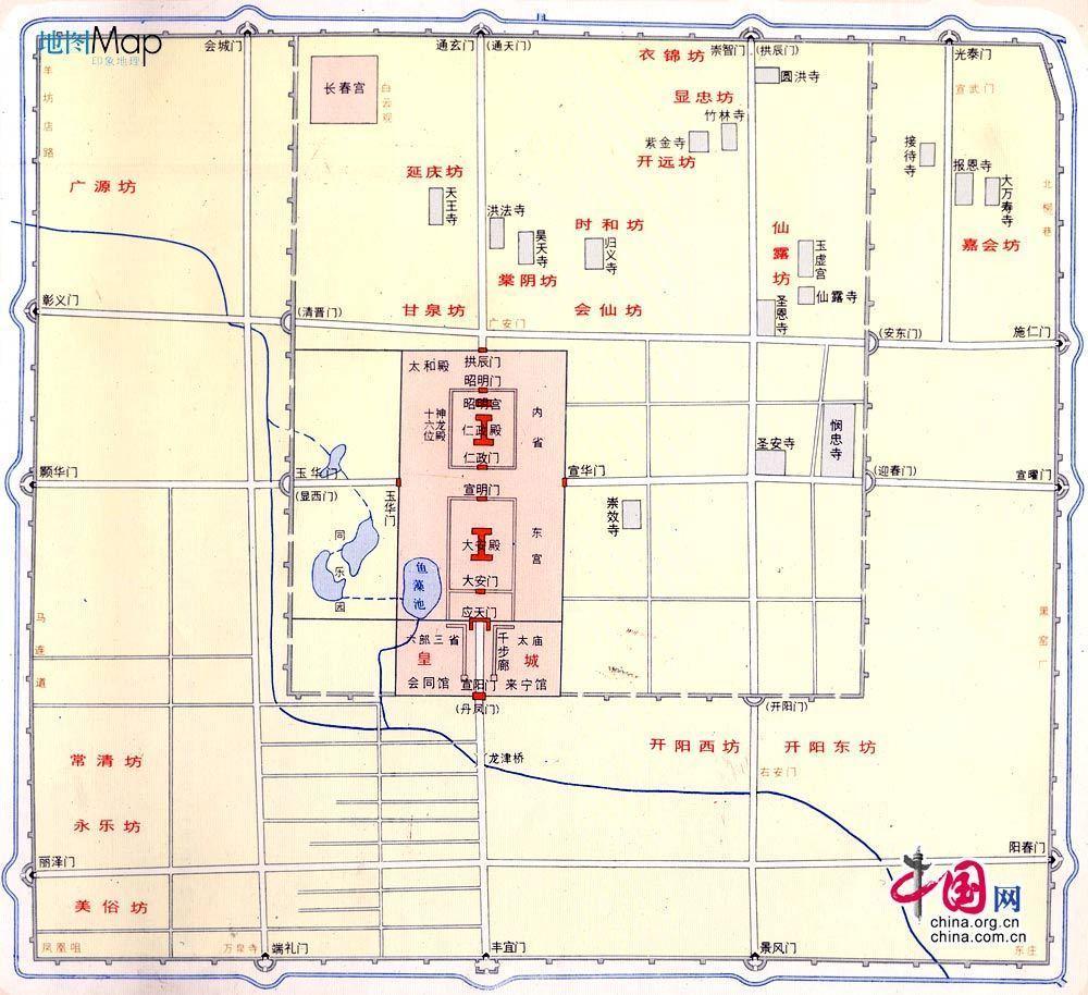 北京齐白石故居平面图