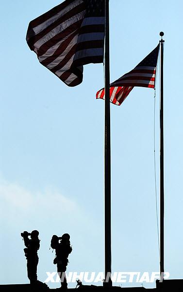 美国新总统奥巴马就职仪式上的特工[组图]
