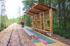 相思谷小火车和森林火车站