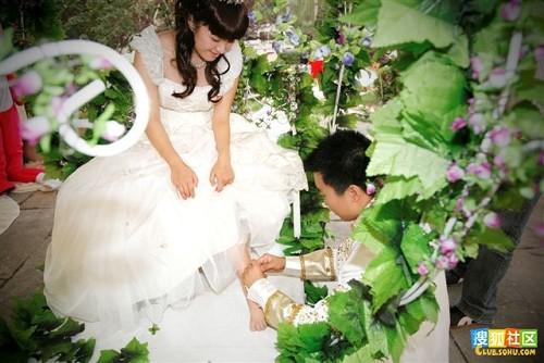 古装编织发 新娘