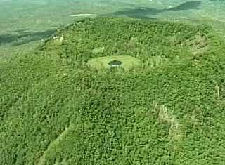 四方山火山天池