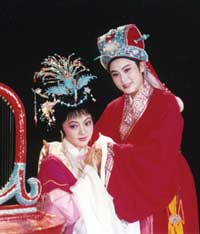 《孔雀东南飞》章瑞虹饰焦仲卿、陈颖饰刘兰芝 1993年10月