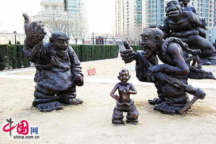 探秘城市现代艺术雕塑[组图]